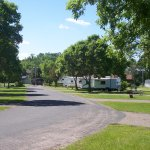 Hoffman Park Campground $20/night w/electric or $10/night tent (2018)