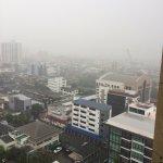 wolkenbruchartige Regenfaelle in Bangkok