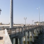 The pier is great for fishing or for enjoying the beauty of the Outer Banks!
