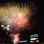 Baseball + fireworks = great summer nights