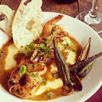 Shrimp & Grits NOLA style