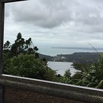 The Tasman Sea from the Arataki Visitor Centre in the beautiful Waitakere Ranges