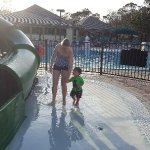 Fun at 2 Water Slides For Little Kids and Big Kids
