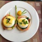 Breakfast at Horizon Club lounge