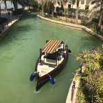 """The famous """"Abra"""" Arabic traditional boat to reach the souk"""