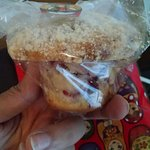 muffin de framrbuesa