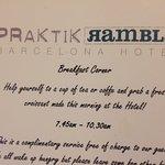 Hotel Praktik Rambla Foto