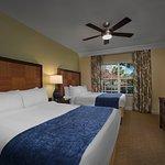 Two & Three-Bedroom Villa - Queen/Queen Bedroom
