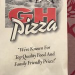 Great House pizza. Friendly staff and food was quick on a holiday weekday at 4
