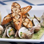 Local Steamed Clams from Clammer Dave
