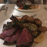 Chateaubriand and lobster for two