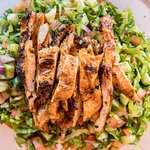 Chopped Salad with chicken breast