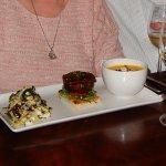 Filet Mignon with soup & salad