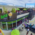 RoofDeck seating, full bar and good times!