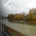 From the train coming from Bad Ischl