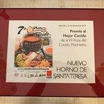 Premio al mejor Cocido Madrileño