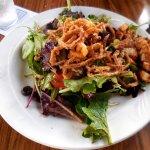 Tropical Salad with Blacken Chicken