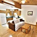 King Suite Living Room / Kitchenette