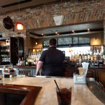 Conlon at the bar.