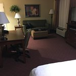 View of suite from bed