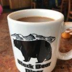 loved this cute mug-great coffee!
