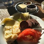 Great variety of breakfast specials. Jams, cheeses.....