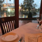 View of CityWalk from the table