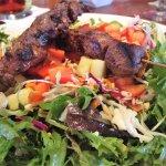 Sumatran grilled beef salad