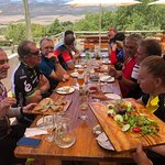 Our Cape Classic road bike tour. Full of great food, wine and company!