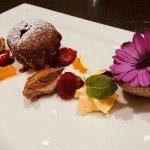 Krönender Abschluss: Schokoladen-Himbeer-Passionsfrucht Trilogie