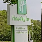 Sign out the Front Holiday Inn East Kilbride.