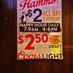 Happy Hour and beer specials