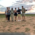 Our game drive group