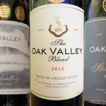 Just three of the truly fine Oak Valley wines
