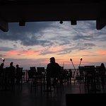 Sunset to set the scene