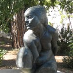 Split, Galerija Mestrovic, bronze in the museum garden