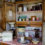 A farm cottage larder