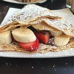 Amazing Nutella, Strawberries & Banana crepe