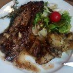 le filet de boeuf et pommes de terre sarladaise