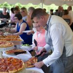 We love Angelo's so much that we had them cater our wedding. Guests were so happy that we had ZE