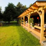 Outdoor Covered patio and Bar
