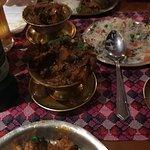 Annapurna chicken, ghurkali pork