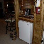 Jr Suit #45 Nice little fridge and Kurig coffee maker (fee to use)