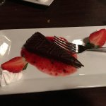 Chocolate Torte with Berry Compote