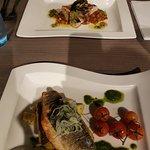 Sea bass and sword fish