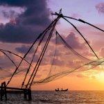 Chinese Fishing Nets in Fort Kochin