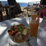 Greek Yogurt and fresh fruit
