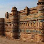 Blue tilesGwalior Fort
