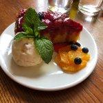 Plum cake dessert - delicious!!