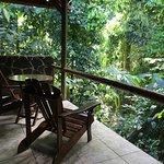 Balcony - a great place to relax and listen to the sounds of the jungle